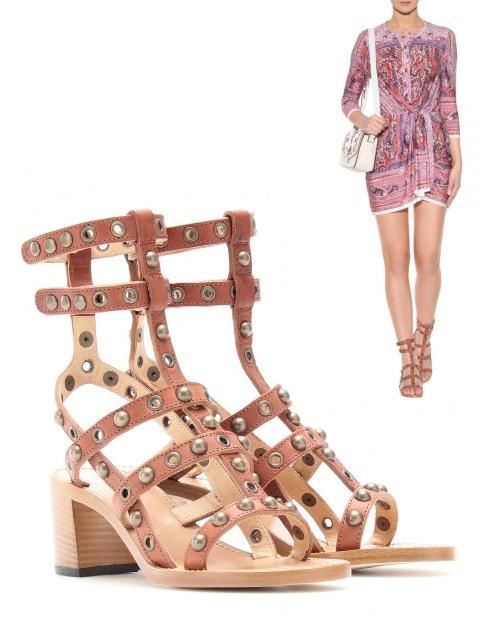 spartiate isabel marant gladiator sandal. Black Bedroom Furniture Sets. Home Design Ideas