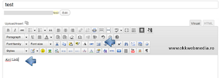 adaugare link wordpress - okkwebmedia tutoriale