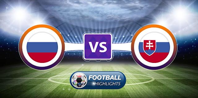Slovakia vs Russia – Highlights