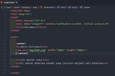 Cara Membuat Form menggunakan HTML