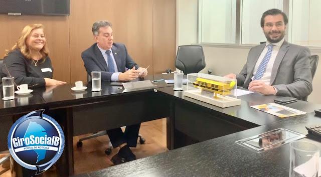 Em Brasilia,Prefeita de Itaíba  tem encontros com deputados e senadores pernambucanos em busca de recursos