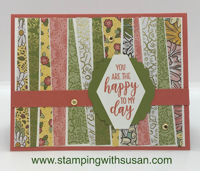 Stampin' Up!, Ornate Garden, www.stampingwithsusan.com, Paper Techniques, Country Home,