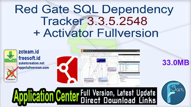 Red Gate SQL Dependency Tracker 3.3.5.2548 + Activator Fullversion