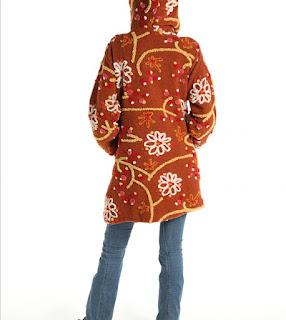 Cappotti in lana cotta femminili
