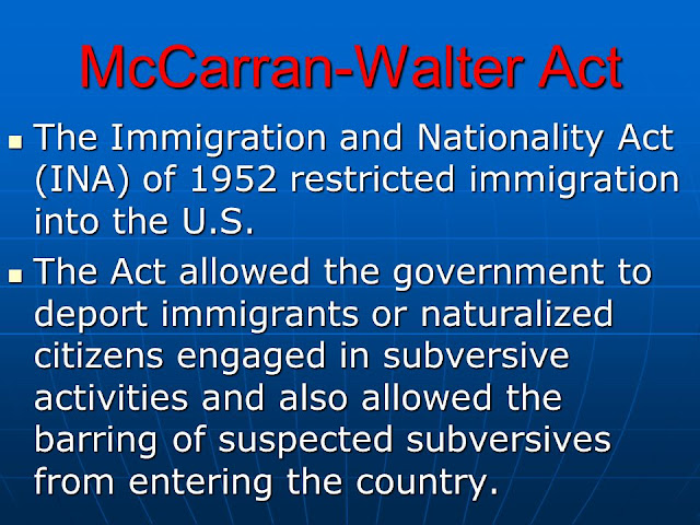 McCarran-Walter Act of 1952
