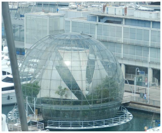 Biosfera vista do Bigo