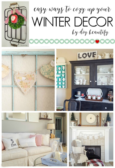Ideas for creating a home that's cozy and welcoming, even during the cold winter months! More tips at diy beautify!