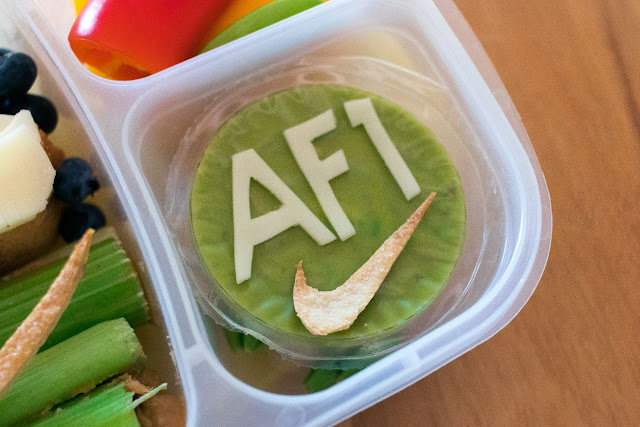 How to Make a Nike Air Force 1 Shoes Food Art Bento Lunch Recipe!