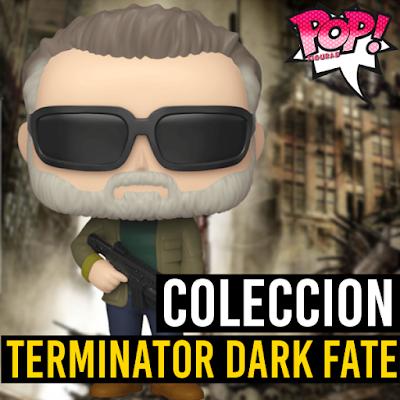 Lista de figuras funko pop Terminator Destino Oscuro