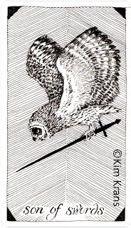 The Wild Unknown Tarot Son of swords