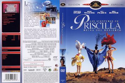Carátula dvd: Las aventuras de Priscilla, reina del desierto