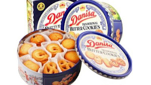 Danisa Butter Cookies Website