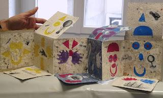 atelier créatif livre papier peinture dessin gravure