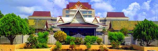 Gedung kantor Bupati Kabupaten Indragiri Hulu (Inhu)