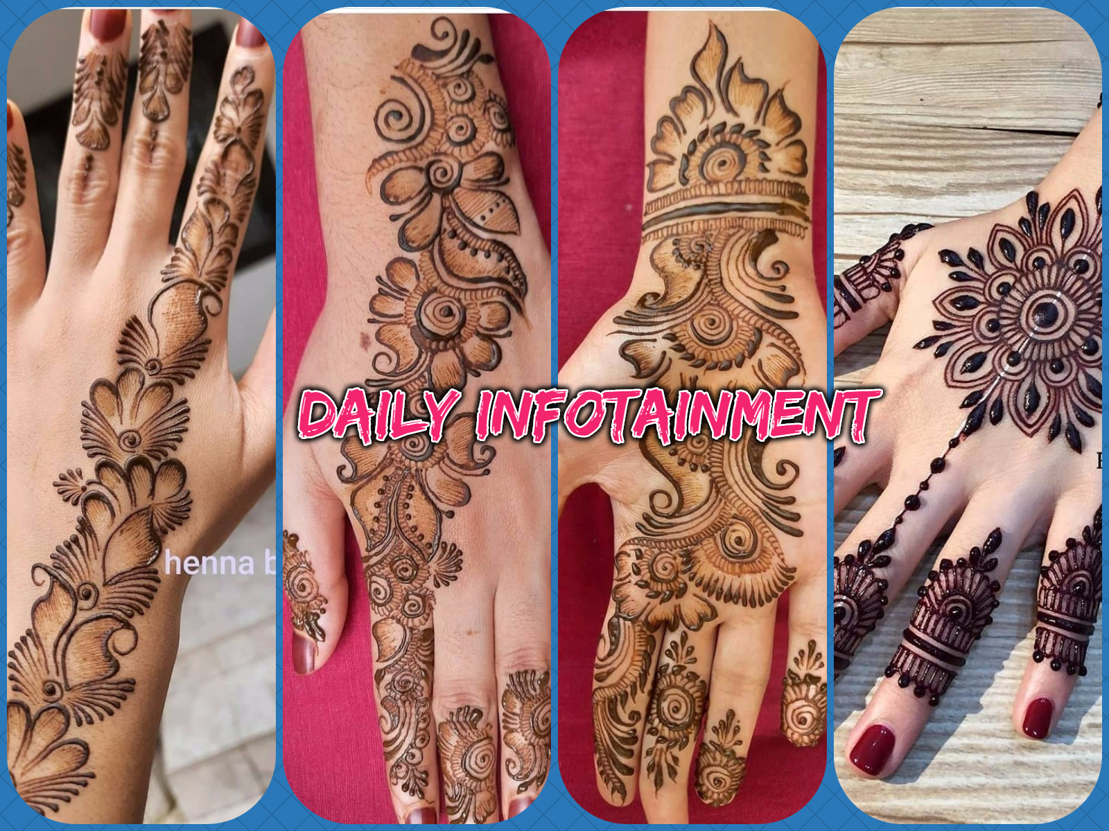Simple Mehndi Video Tutorials Step by Step | Get Professional