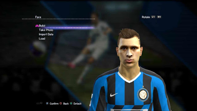 Nicolò Barella New Face and Hair For PES 2013