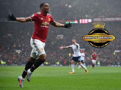 Martial Mencetak Gol Tunggal Saat United Menjamu Tottenham Hotspur
