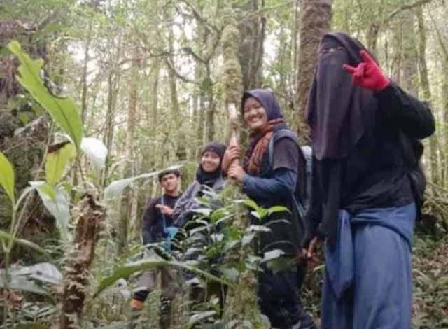 Mahasiswi UIN Jambi yang Hilang di Gunung Masurai Ditemukan Selamat