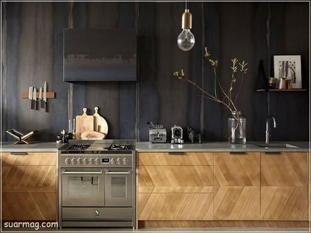 اجمل اشكال مطابخ خشب لن ترى مثلها فى حياتك   مجلة صور