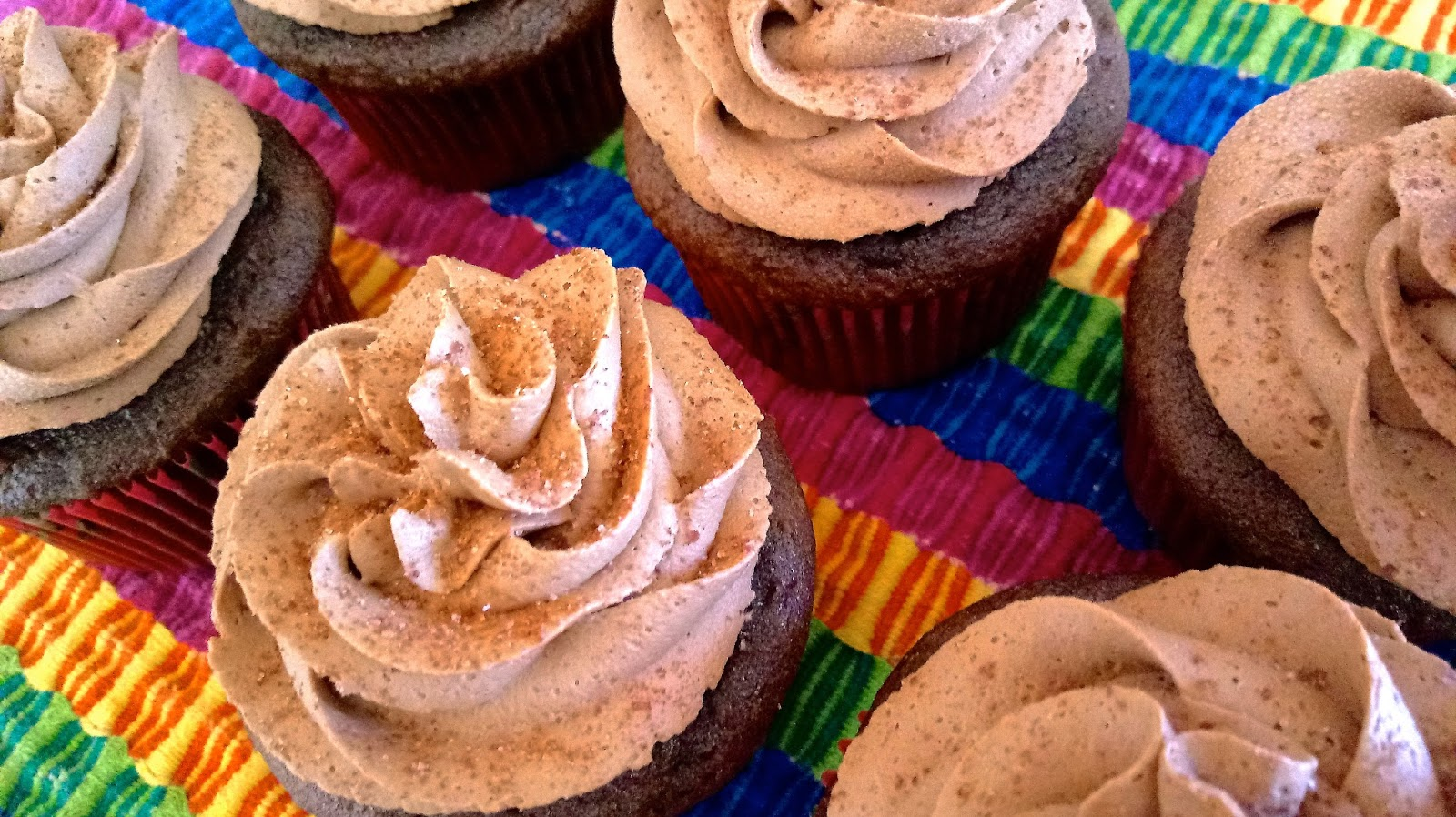 At Home With The Loverbees Mexican Hot Chocolate Cupcakes
