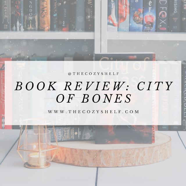 City of Bones by Cassandra Clare book review.