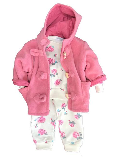 Ropa de bebe invierno 2017 moda infantil camperitas para bebas.