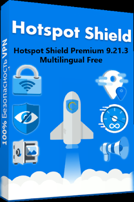 Hotspot Shield Premium 9.21.3 Multilingual Free Download