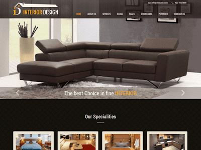 templete website bán hàng đồ nội thất