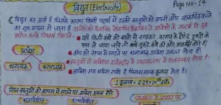 General Science Handwritten Notes for Railway Exams in Hindi