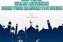 50+ Kata Ucapan Selamat Menunaikan Ibadah Puasa Ramadhan 1439 Hijriah Terbaru dan Terbaik