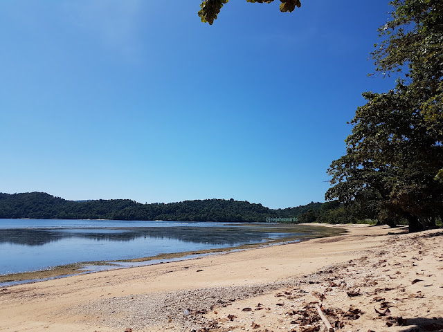 Ujung Pantai Paradise Likupang, sebuah tanjung