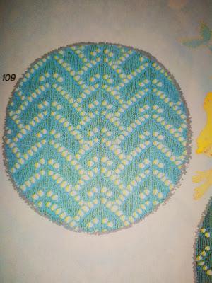 ажурный узор №109, каталог узоров Stitch World