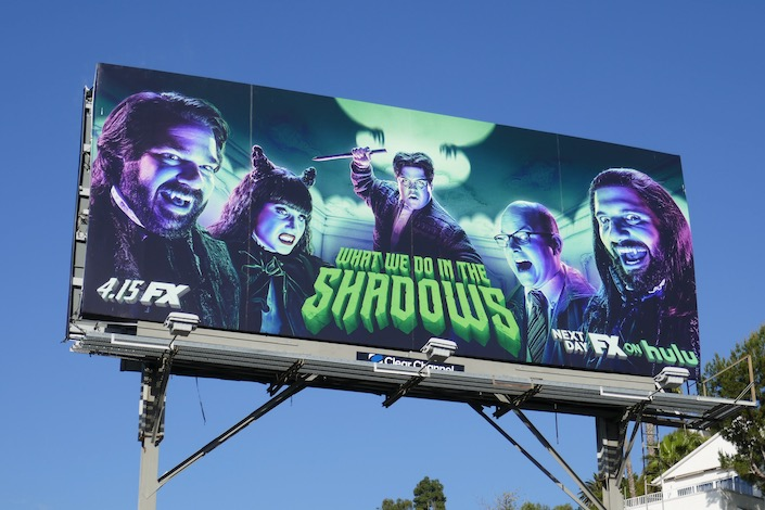 What We Do in the Shadows season 2 FX billboard