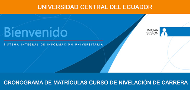 matrículas universidad central del ecuador 2017 2017