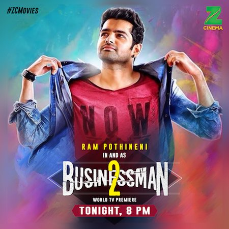 Businessman 2 2017 Hindi Dubbed 480p DTHRip 350MB