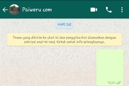 Whatsapp Dengan Chat Kosong