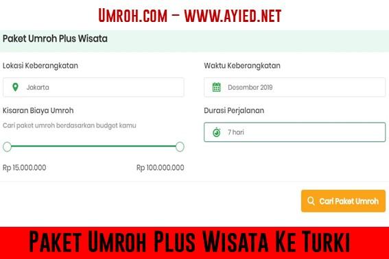 Paket Umroh Plus Wisata Ke Turki dengan Umroh.com