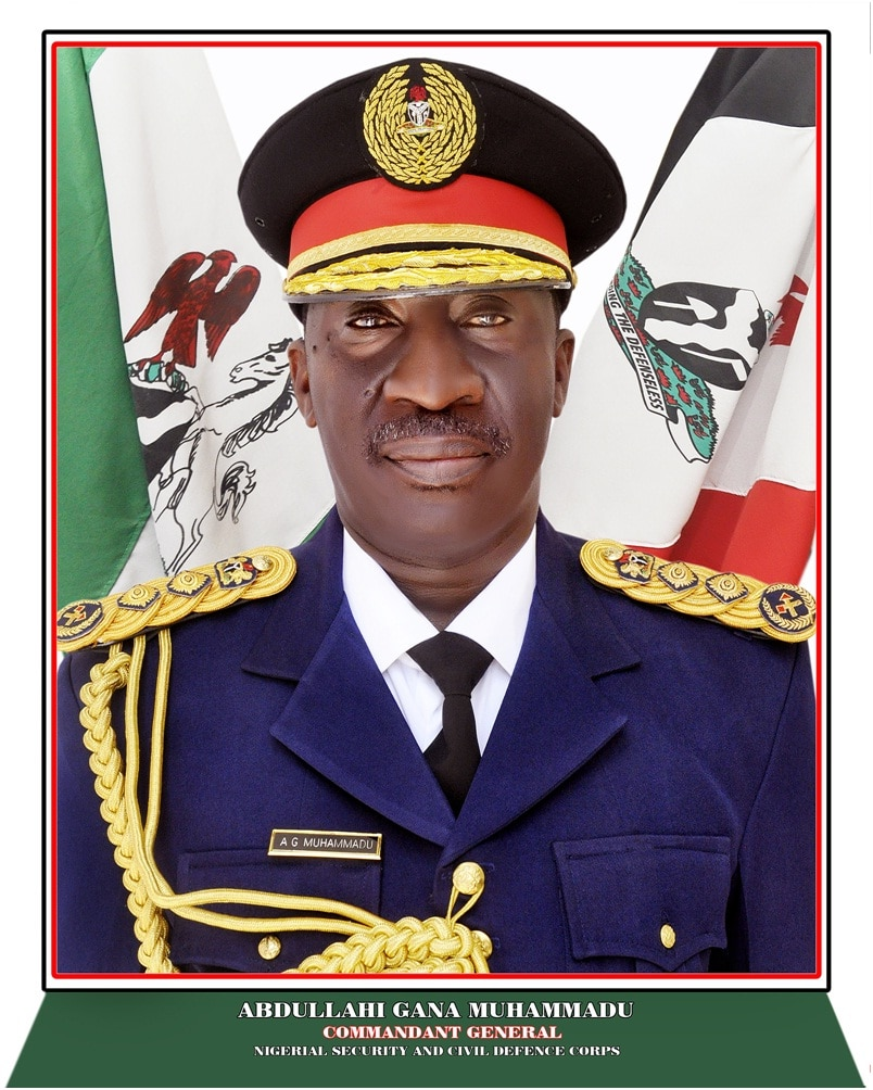 Nscdc boss name
