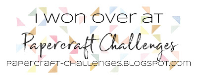 Winner Papercraft Challenges