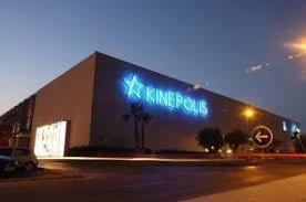 edificio de kinepolis en ciudad de la imagen madrid