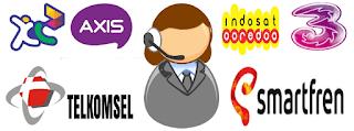 nomor panggilan & call center semua operator di Indonesia