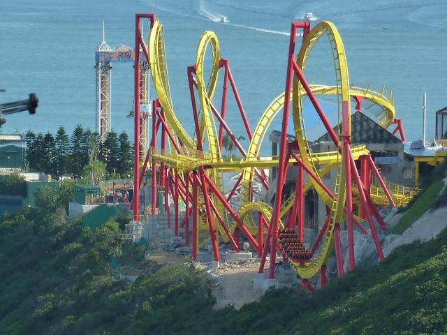Ocean Park Hair Raiser Track