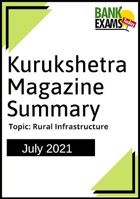 Kurukshetra Magazine Summary: July 2021