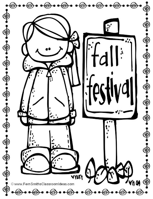 Updated Fall Coloring Pages for Home and School at TeachersPayTeachers. Download it again for double the pages! Fern Smith's Classroom Ideas
