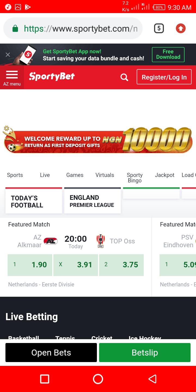 Sporty bet com best bonus betting sites