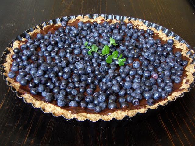 jagod2 Tarta jagodowa z polewą czekoladową