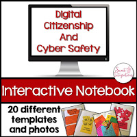 If you're in need resources for teaching digital citizenship and cyber safety, I've provided 4 online resources for you.