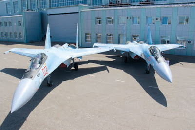 Su-35S Fighters