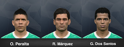 PES 2017 Facepack Mexico