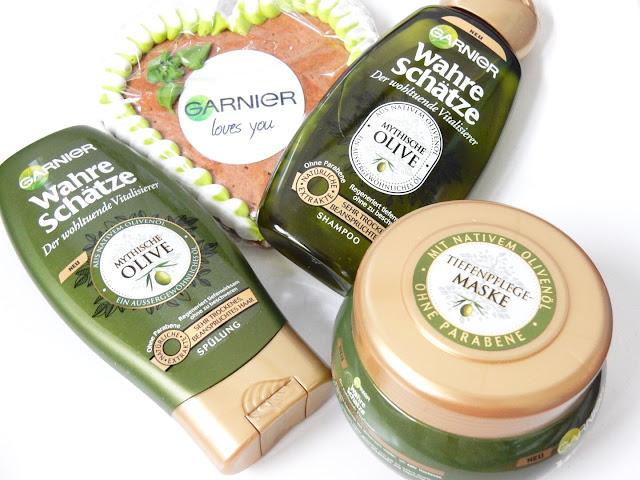 Garnier Wahre Schätze Der wohltuende Vitalisierer Mythische Olive gesamt
